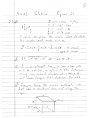 Phys20(F08) HW1 Solutions