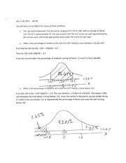 Stat 2 Fall 2014 HW 4 solutions revised 10-1--2014
