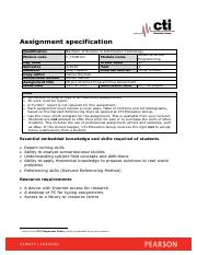 Object Oriented Programming (C_ITOO121 V1.0) Assignment Specification.pdf