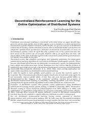 08of22 - Decentralized Reinforcement Learning for the Online Optimization of Distributed Systems.pdf