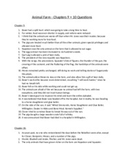 animal farm chapter questions vocabulary animal farm 2 pages animal farm chapters 9 10 questions