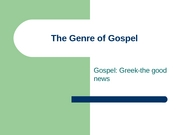 The_Genre_of_Gospel