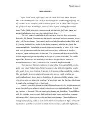 Pathophysiology research paper