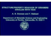 Structure Property Behavior 10272003