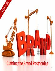 Chapter 6B (Crafting the Brand Positioning).pptx