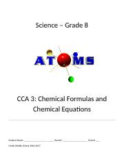 CCA 3 Chemical Formulas (Autosaved).docx