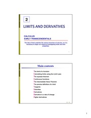 Microsoft PowerPoint - Chapter2 - Limits and Derivatives