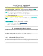 Module 4 Lesson 4 Direct Quote and Paraphrase Template.doc