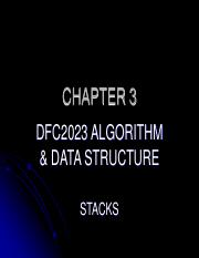 algorithm and data structure