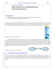Mechanical Properties of Material