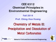 CEE6312+Metal+Chem+II_metal+carbonates_2014