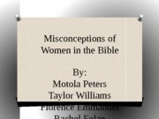 Misconceptions of Submission in the Bible