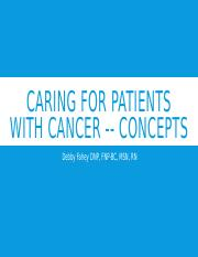 Caring for patients with cancer -- concepts.pptx