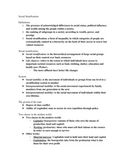 Lecture Notes 9_Social Stratification