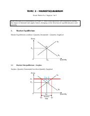 Topic 03 - Market Equilibrium & Efficiency.pdf