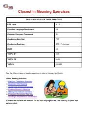 Closest in Meaning Exercises - ESL EFL.pdf