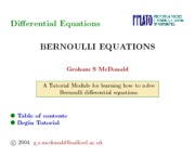 Bernoulli-differential-equations