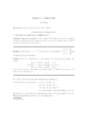MATH 2040 FULL COURSE NOTES