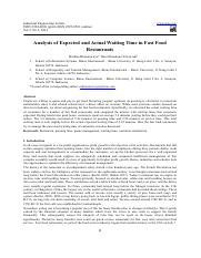 Analysis of Expected and Actual Waiting Time in Fast Food.pdf
