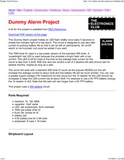 Dummy Alarm Project