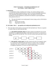 PDF Lect06 Life Tables 1