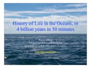 4_History of Life in the Oceans 2013