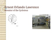Ernest O. Lawrence Review