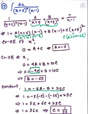 MATH 3001 Integration Substitution Notes