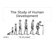 The Study of Human Development-1