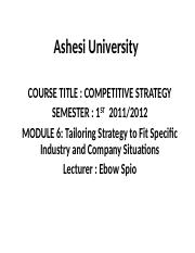 Tailoring_Strategy_to_Fit_Specific_Industry_and_Company_Situations.ppt