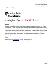 HRM 531 - LEARNING TEAM B CHARTER-3.docx