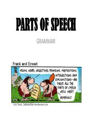 Parts of Speech Table pdf - Parts of Speech Table This is a summary