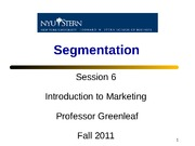 Session 6 - Segmentation