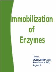 12 Immobilizatiof Enzymes.pptx