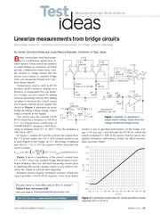 test and measurement linearize bridge RTD