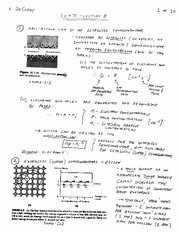 EE 475 Fall 2011 Lecture 9 Notes