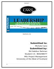 Change Management and Leadership part- 2.docx