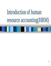 Introduction of HR Costing_1