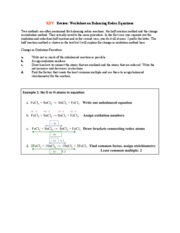 Vandenbout Worksheet 9 Key