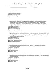 Chapter 13 Study Guide (1)