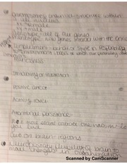 Notes on Psychology Genetics