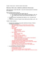 Chapter 11  NTR 312 Study Guide