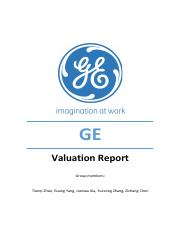 GE+Valuation+Report