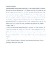 financial polynomials essay example