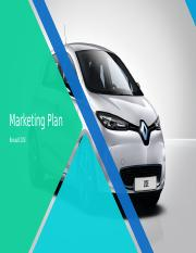 Renault marketing_plan