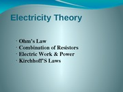 _Electricity ppt presentation modified