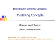 lecture 8 on Information systems Concepts