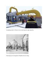 A pumping station in Russia moves natural gas through a pipeline.docx