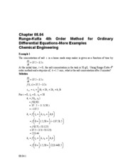 mws_che_ode_txt_runge4th_Examples