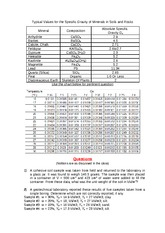 Practice questions on soil phase relationship-Aug 2014